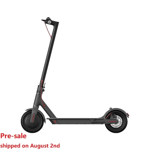 Pre-sale Xiaomi Mijia 1S Folding Electric Scooter 8.5 Inch Tire 500W Brushless Motor Up To 30km Range Max speed 25km/h Smart Display Dual Brake