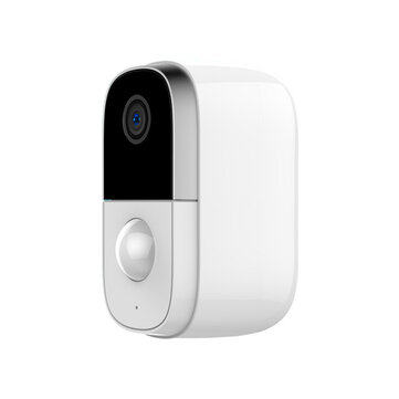1080P HD Wifi IP Camera Rechargeable Battery PIR Night Vision Two Way Audio Wireless Monitoring Low Power Outdoor Waterproof Camera Baby Monitors
