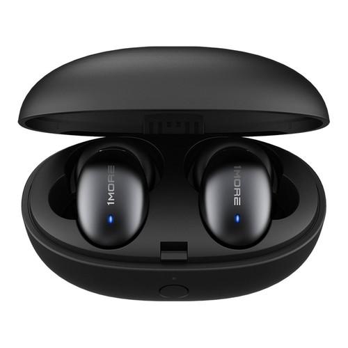 1MORE E1026BT Bluetooth 5.0 TWS Earphones aptX/ AAC Stereo Hi-Fi Sound 410mAh Charging Case - Black