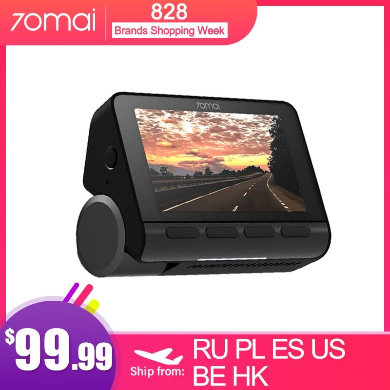 70mai Smart Dash Cam 4K A800 Built in GPS ADAS Real 4K UHD Cinema quality Image 24H Parking Monitior SONY IMX415 140FOV|DVR/Dash Camera| - AliExpress