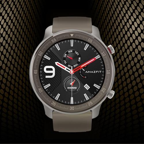 AMAZFIT GTR 47mm Smart Watch Titanium Edition 24 Days Battery Life 5ATM Waterproof GPS GLONASS 12 Sports Modes 326ppi AMOLED Screen Global Version ( Xiaomi Ecosystem Product )