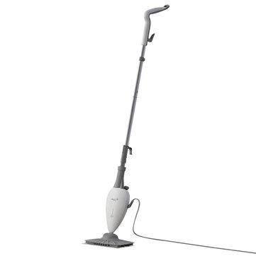 Deerma ZQ100 High Temperature Steam Sterilization Mop Dust Collector from Xiaomi Youpin Cleaner Steam Glass Scraper Vacuum Cleaner