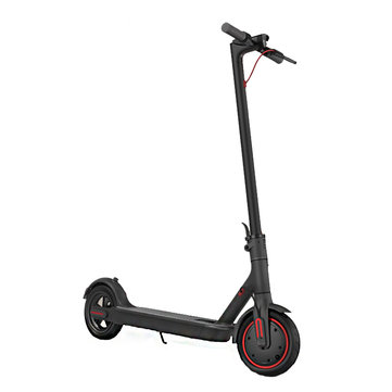 [EU Direct] 2019 Xiaomi Electric Scooter Pro 300W Motor 3 Speed Modes 25km/h Max. Speed 45KM Mileage Range 12.8Ah Battery Double Brake System EU Plug