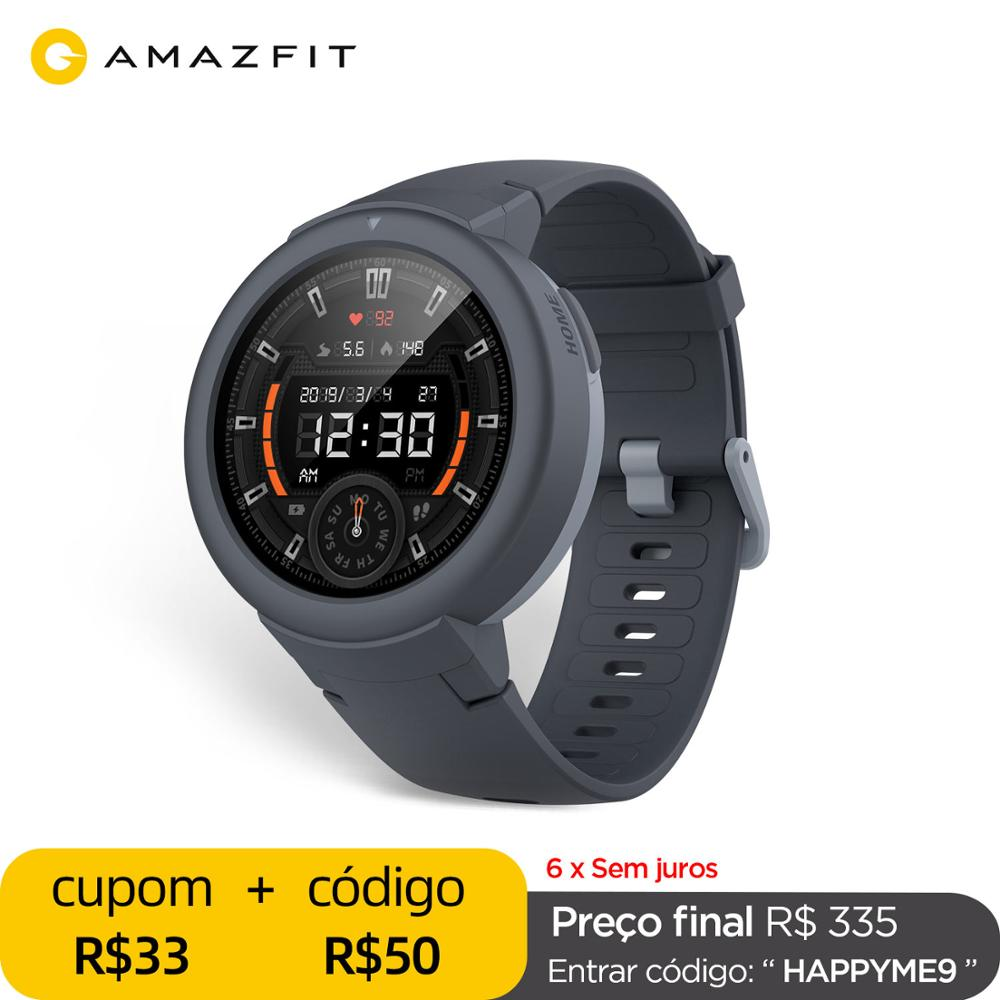 In stock Global Amazfit Verge Lite Smartwatch IP68 Smart Watch GPS GLONASS Long Battery Life AMOLED Display for Android iOS Smart Watches  - AliExpress