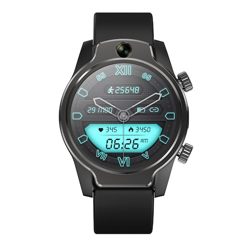 Rogbid Brave 4G 5ATM Diving Smart Watch Phone Ceramic Bezel 8MP Dual Camera Wi-Fi Hotspot 3G + 32G GPS Glonass 3560mAh Battery