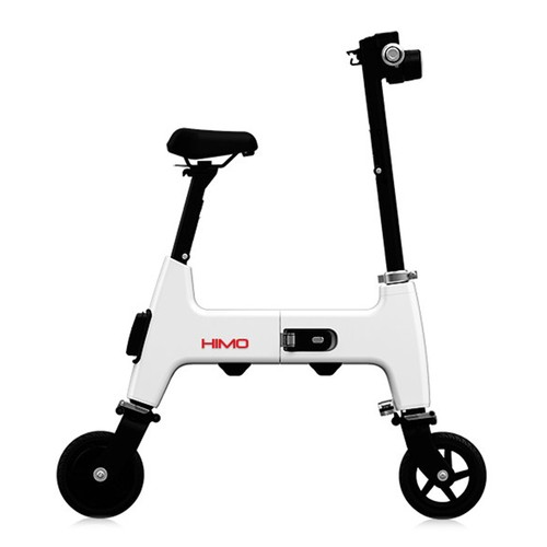 Xiaomi HIMO H1 Portable Folding Two-Wheel Electric Bicycle 20KM Endurance A3 Paper Size Safe And Comfort - White