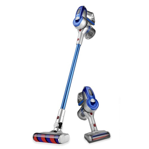 Xiaomi JIMMY JV83 Cordless Stick Vacuum Cleaner 135AW Suction 60 Minute Run Time Anti-winding Hair Mite Cleaning Global Version + Battery Pack - Blue