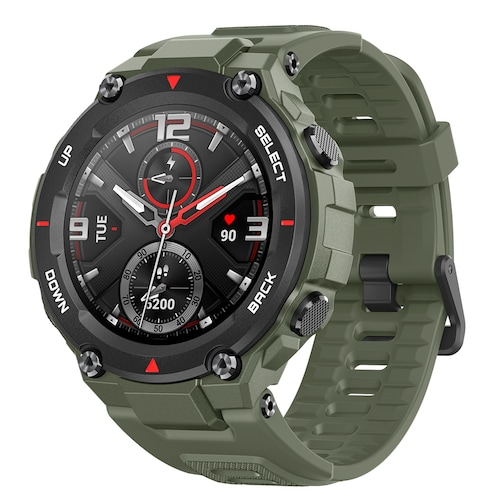 Amazfit T-Rex Outdoor Smart Watch 1.3 inch AMOLED Color Screen 20 Days Battery Life 5 ATM Waterproof 14 Sports Modes 12 Military Certifications Dual GPS System Global Version