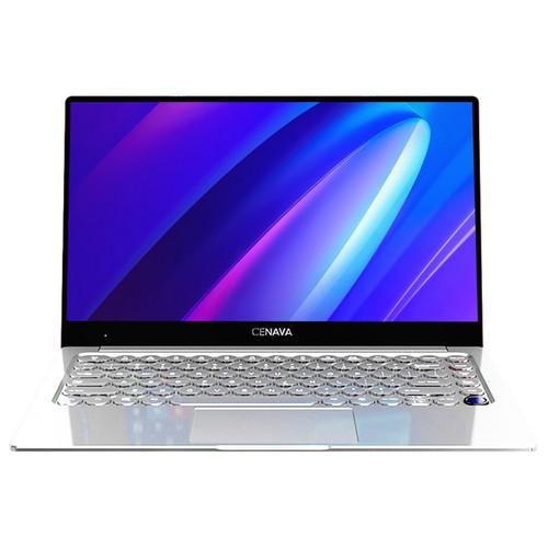 CENAVA N145 Laptop Intel Core i7-6500U 14.1 Inch 1920 x 1080 IPS Screen Intel HD Graphics 520 Windows 10 8GB LPDDR4 256GB SSD - Silver