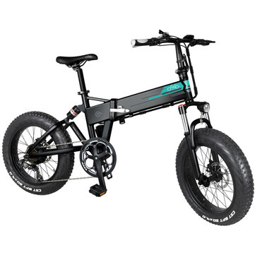 [EU Direct] FIIDO M1 12.5Ah 36V 250W 20 Inches Folding Moped Bicycle 25km/h Top Speed 80KM Mileage Range Electric Bike