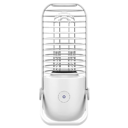Xiaoda Sterilization Desk Lamp Portable USB Charging UV + Ozone Dual Sterilizing Mode for Bacterial Virus Killing - White