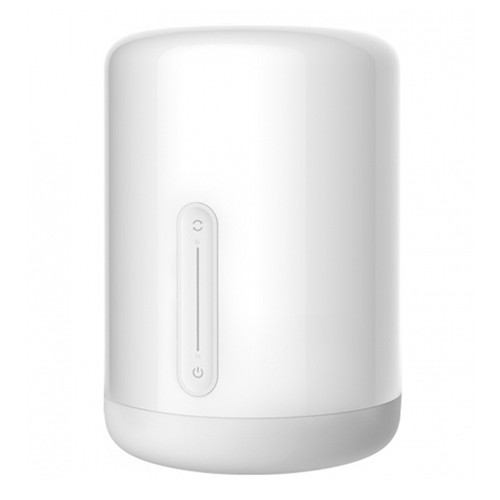 Xiaomi Mijia Bedside Lamp 2 Bluetooth WiFi Connection Touch Panel APP Control Works with Apple HomeKit Siri - White