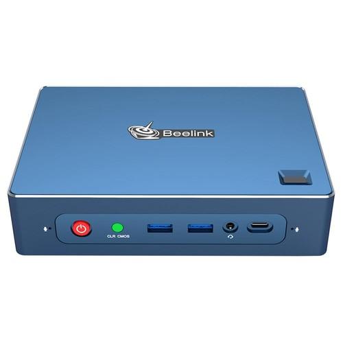 Beelink GT-R Windows 10 Pro MINI PC 8GB DDR4 256GB SSD 1TB HDD AMD Ryzen5 3550H Quad Core Radeon Vega 8 Graphics Wi-Fi CERTIFIED 6 802.11ax Bluetooth 5.1 HDMI*2 DP RJ45*2 Type-C