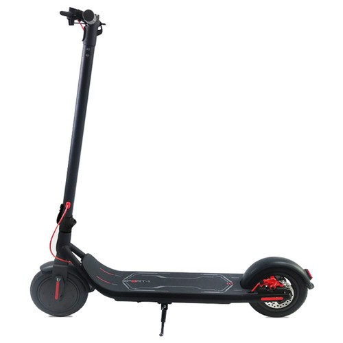 Freego ES-08S Folding Electric Scooter 350W Motor Max 25KM/H LCD Display Screen 8.5 Inch Tire - Black