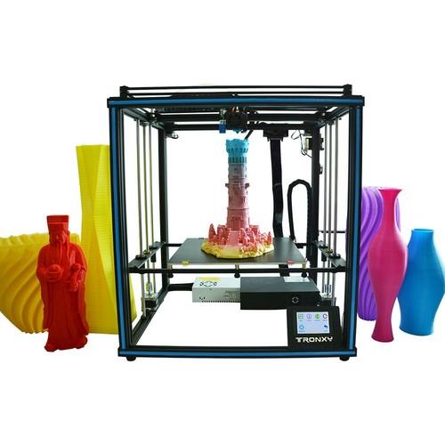Tronxy X5SA-400 High Precision 3D Printer DIY Kit 400*400*400mm Titan Extruder Ultra Silent Mainboard