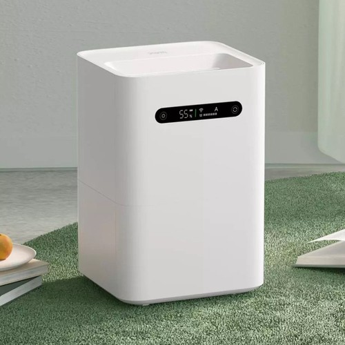 Xiaomi Smartmi Evaporation Air Humidifier 2 4L Large Capacity 99% Antibacterial Smart Screen Display Mi Home APP Control - White