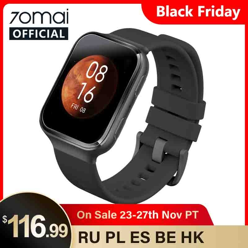 70mai Smart Watch 70mai Saphir Watch Bluetooth GPS Sport Heart Rate Monitor 5ATM Resistance Call Reminder 70mai Smartwatch APP|Smart Watches| - AliExpress