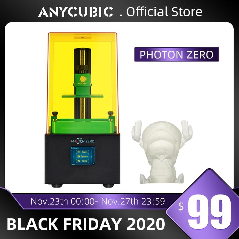 Anycubic 2020 New Photon Zero 3D Printer SLA LCD Printer Quick Slice UV Resin Plus Size Impresora 3d Drucker Impressora|3D Printers| - AliExpress