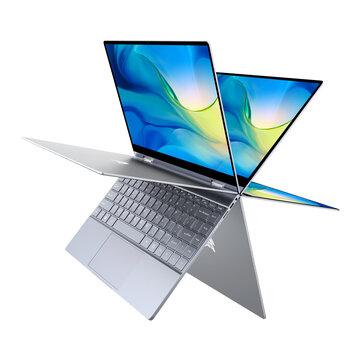 BMAX Y13 Laptop 13.3 inch 360-degree Touchscreen Intel N4120 8GB 256GB SSD 5mm Narrow Bezel Backlight Notebook