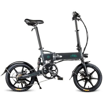 [EU Direct] FIIDO D2S Shifting Version 36V 250W 7.8Ah 16 Inches Folding Moped Bicycle 25km/h Max 50KM Mileage Electric Bike