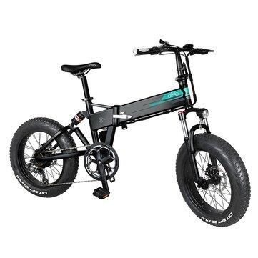 [EU Direct] FIIDO M1 Pro 12.8Ah 48V 500W 20 Inches Folding Moped Bicycle 40km/h Top Speed 130KM Mileage Range Electric Bike