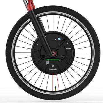 iMortor 3.0 Full Wireless 26in/700C 350W 36V Brushless Motor Intelligence Bicycle Front Wheel
