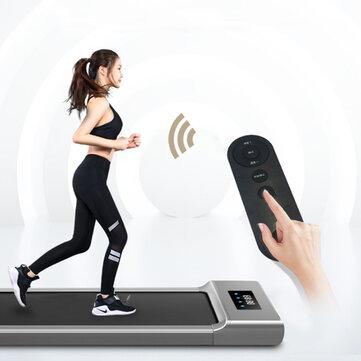 KALOAD 50cm Wide Tread Treadmill 6 Modes Max Speed 6k/h Wireless Control Electric Fitness Walkingpad Machine for Family Max Load 100kg
