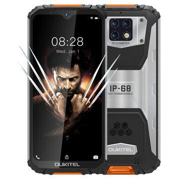 OUKITEL WP6 Global Version 6.3 inch FHD+ IP68 Waterproof 10000mAh 48MP Triple Rear Camera 6GB 128GB Helio P70 4G Smartphone