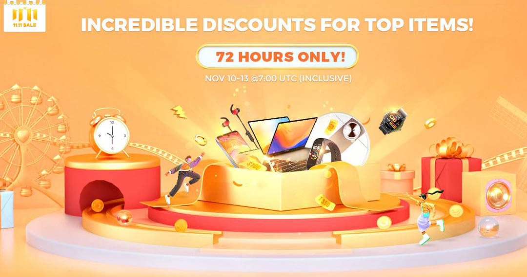 Gearbest 72 Hours Only! promotion