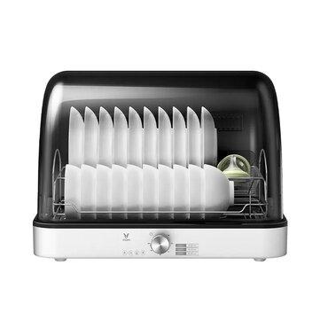 VIOMI Disinfection Cabinet 99.999% UV Sterilization Desktop Free-installation Lightweight 75 ℃ Hot Air Circulation Drying 55L Large Capacity