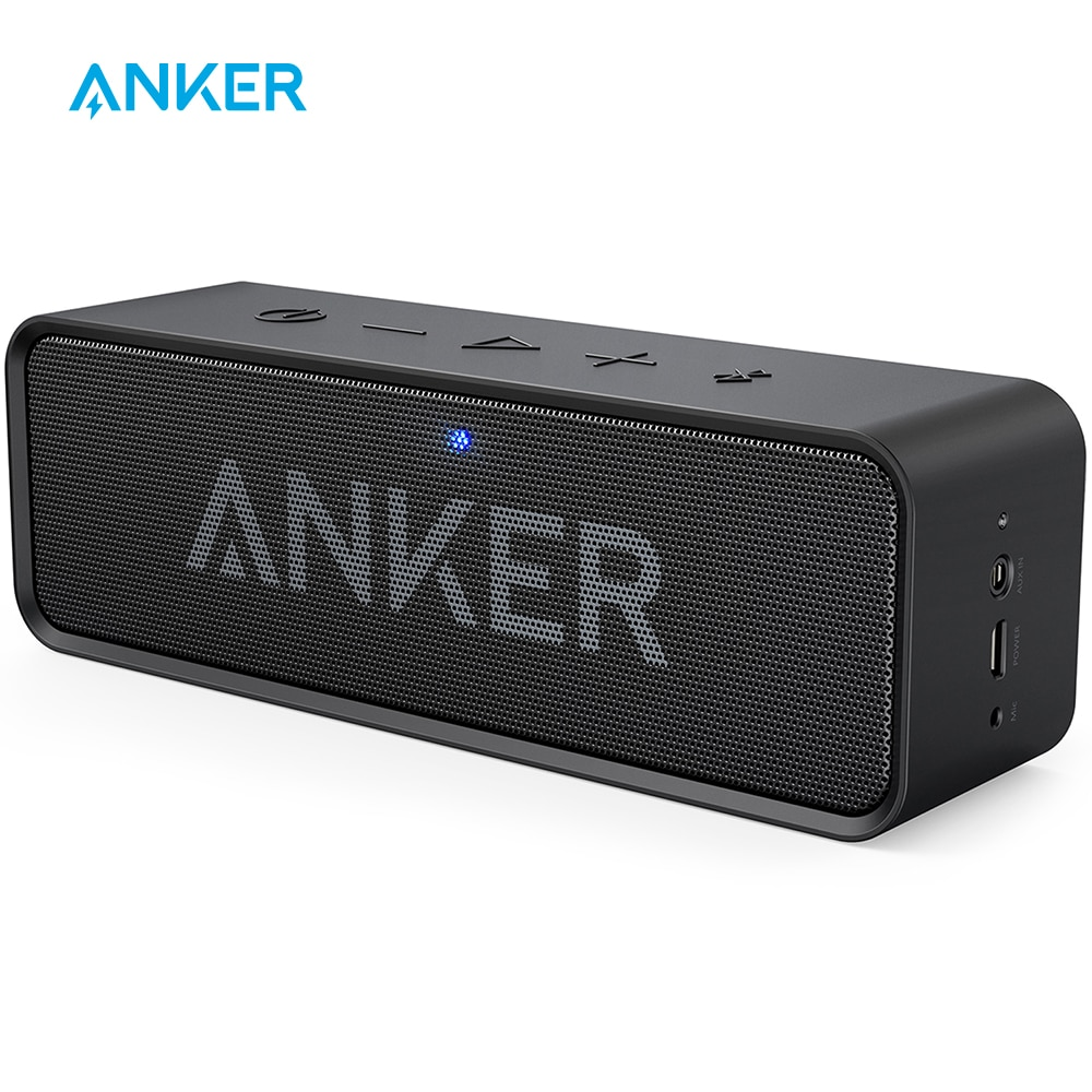 Anker Soundcore Portable Wireless Bluetooth Speaker with Dual Driver Rich Bass 24h Playtime 66 ft Bluetooth Range & Built in Mic|bluetooth speaker|portable wireless bluetooth speakerwireless bluetooth speaker - AliExpress