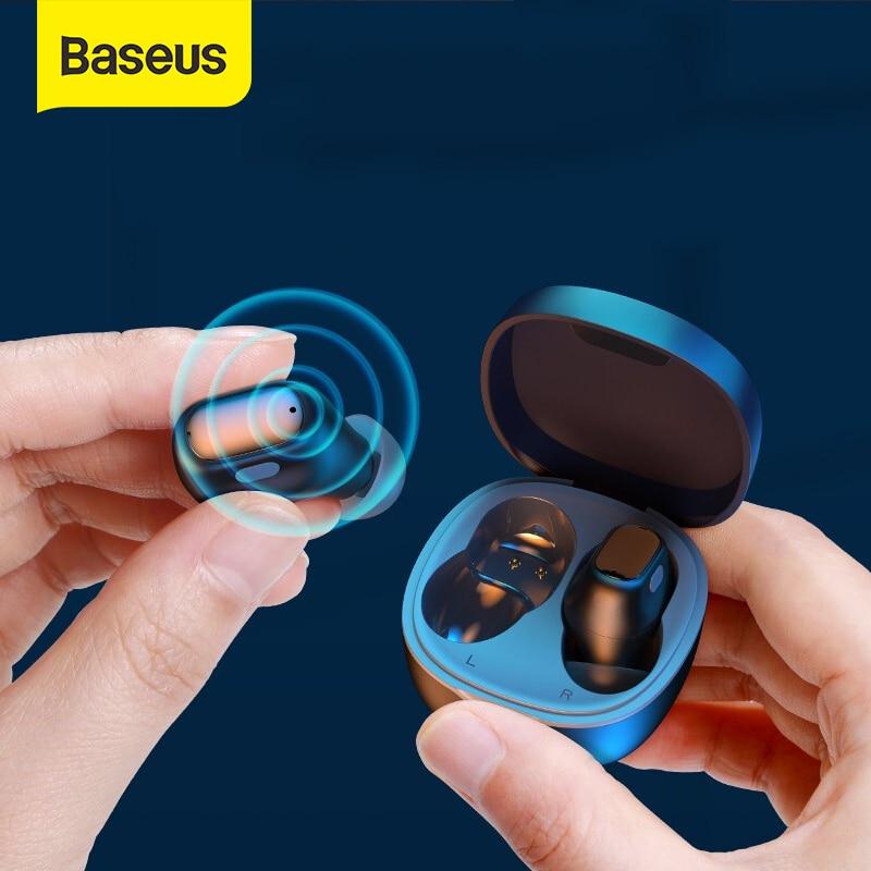 Baseus WM01 TWS Bluetooth Earphones Stereo Wireless 5.0 Bluetooth Headphones Touch Control Noise Cancelling Gaming Headset|Bluetooth Earphones & Headphones| - AliExpress