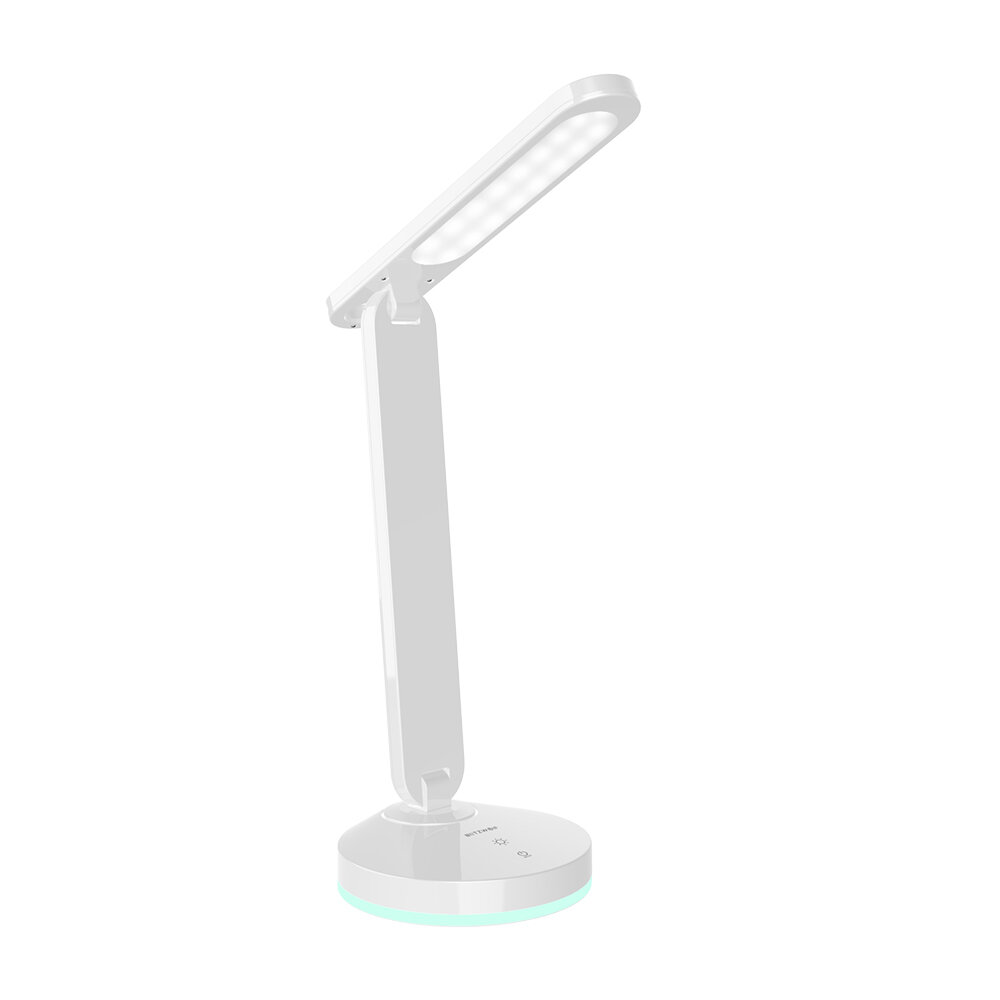 BlitzWolf® BW-LT16 Floding Desk Lamp with Automatic RGB Ambient Lighting Base Touch Control Stepless Dimming Table Light COD