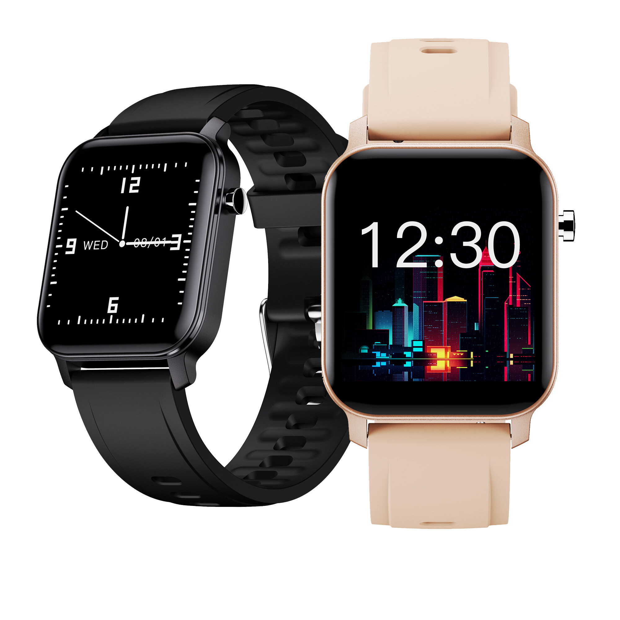 [bluetooth 5.0]Kospet M2 1.4 Inch 320*320px Full Touch Screen Heart Rate Blood Oxygen Monitor Breathe Training Customized Watch Face IP68 Waterproof Smart Watch COD