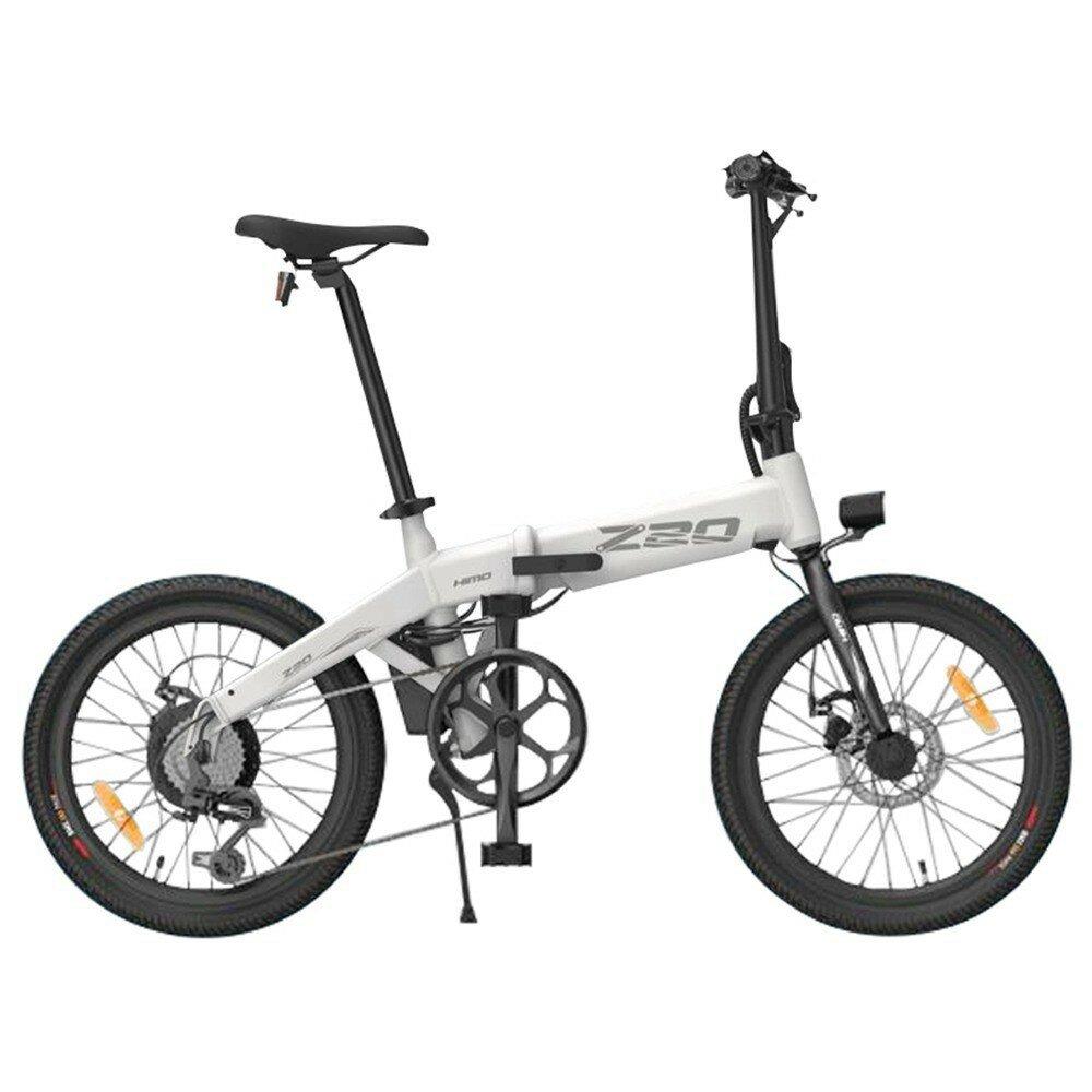 [CZ Warehouse] HIMO Z20 10AH 36V 250W Folding Electric Bike 20inch Tire 25km/h Top Speed 80km Mileage Range 6-speed Transmission Smart Display Dual Disc Brake EU DIRECT