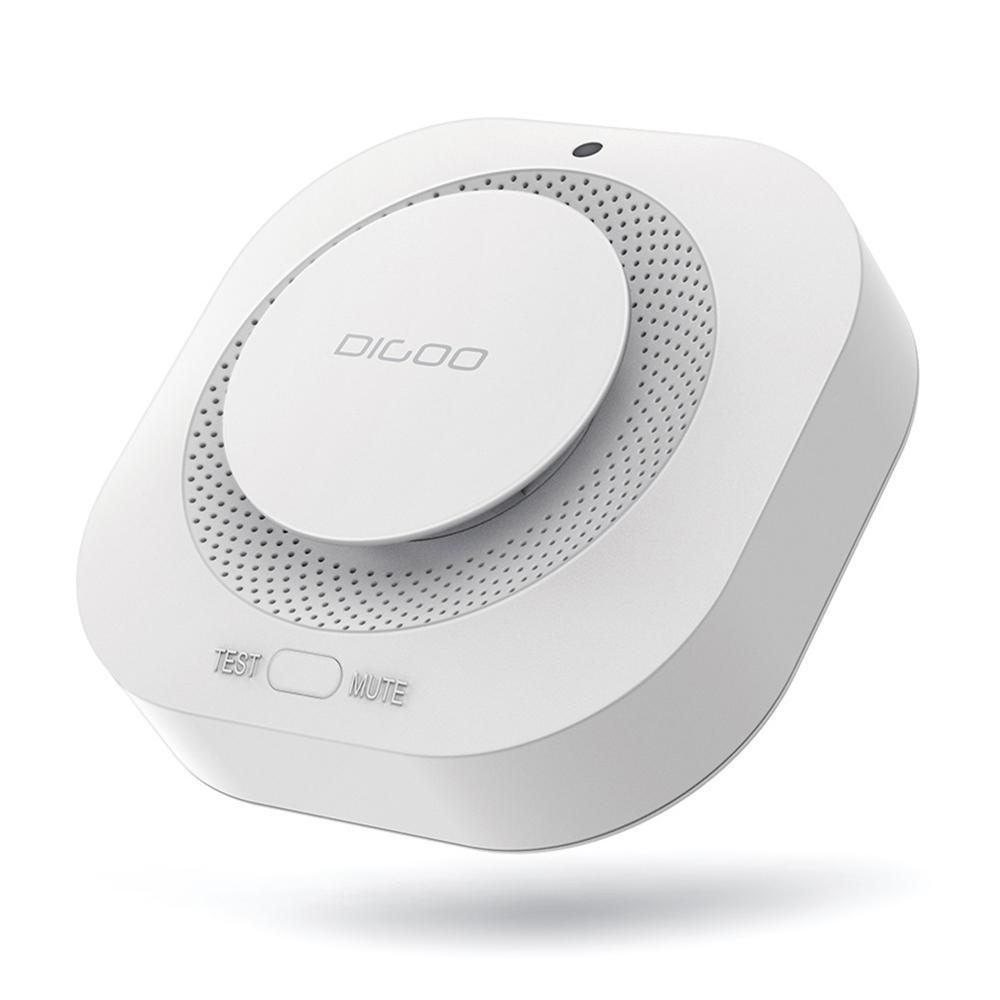 DIGOO DG-SA01 Fire Alarm Detector Standalone Photoelectric Smoke Sensor Remote Alert Work with HOSA HAMA System COD