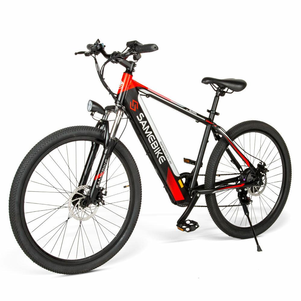 [EU Direct] Samebike SH26 8Ah 36V 250W 26 Inches Electric Bicycle 30km/h Top Speed 30-70KM Mileage Range Electric Bike 150Kg Max Load