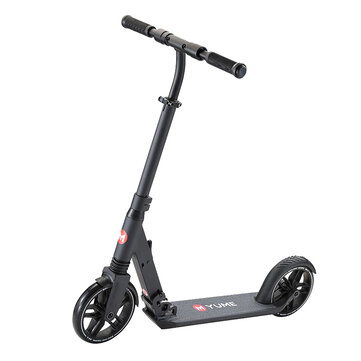 [EU Direct] YUME A5 8'' Wheels Foldable City Kick Scooters Light Weight Freestyle Folding Scooter Urban Commuter Ultralight Scooters For Teens Adult