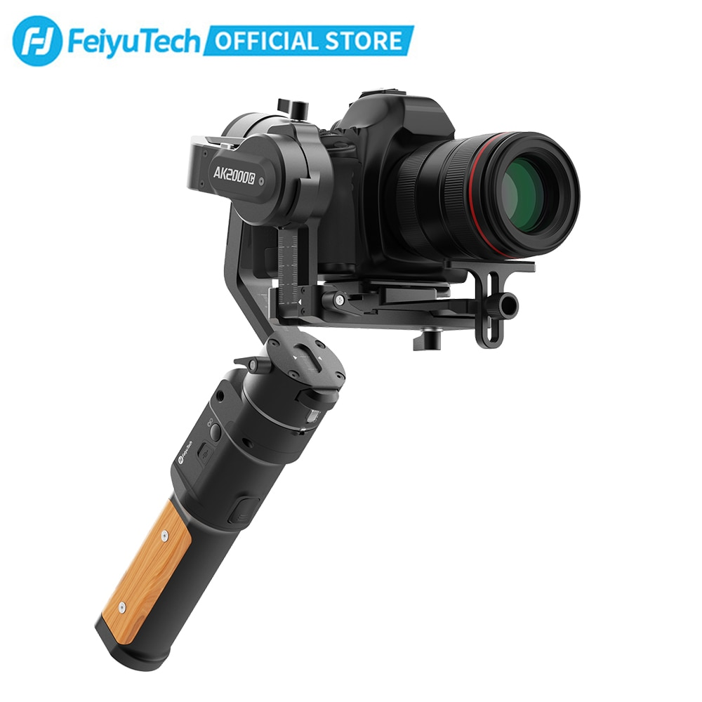 FeiyuTech Official AK2000C DSLR Stabilizer 3 Axis Camera Gimbal Stabilizer Foldable Release Plate for Canon Sony Panasonic Nikon|Handheld Gimbal| - AliExpress