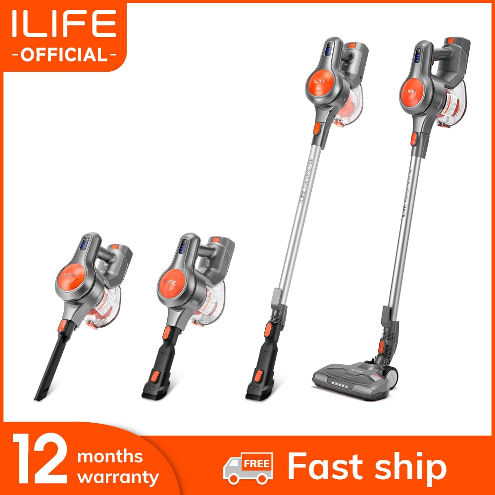 ILIFE H70 Handheld Vacuum Cleaner 21000Pa Strong Suction Power Hand Stick Cordless Stick Aspirator 1.2L Big Dustbin|Vacuum Cleaners| - AliExpress