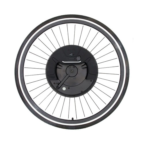 iMortor3 Permanent Magnet DC Motor Bicycle 700C Wheel With App Control Adjustable Speed Mode V Break - EU Plug