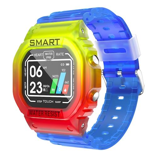 KUMI U2 Smart Watch Sports Smartwatch Men Heart Rate Monitor Bluetooth Fitness Watch Smart Bracelet for Android IOS