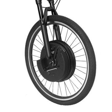 LAOTIE EW-DP5 Throttle Type 26in/700C Universal 36V 7.2Ah 500W Intelligence Bicycle Wheel Brushless Motor Front Wheel for Electric Bike