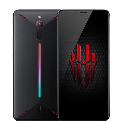 Nubia Red Magic NX609J Global Version 6.0 Inch FHD+ Screen 4G LTE Gaming Smartphone 8GB 128GB 24.0MP Snapdragon 835 Android 8.1 Type-C Touch ID OTG - Black