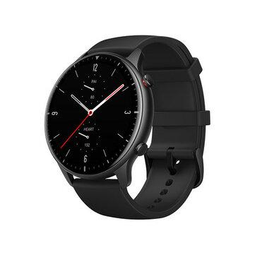 Original Amazfit GTR 2 bluetooth Call Built-in GPS Music Storage Play BT5.0 Wristband Blood Oxygen Monitor 90 Sport Modes Tracker Smart Watch Global Version