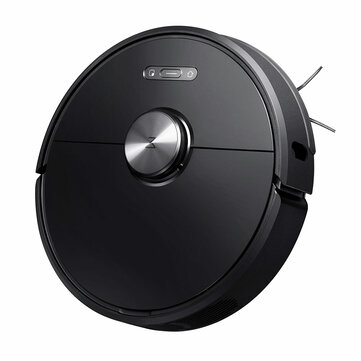 Roborock S6 Robot Vacuum Cleaner 2000Pa Strong Suction, APP Control, LDS Lidar Scanning and SLAM Algorithm, 5200mAh Battery