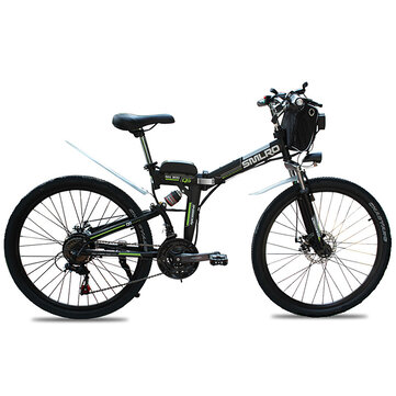 SMLRO MX300 48V 10Ah 350W 26in Electric Bike Bicycle 35km/h Max Speed 70km Max Range IP54 Waterproof E Bike