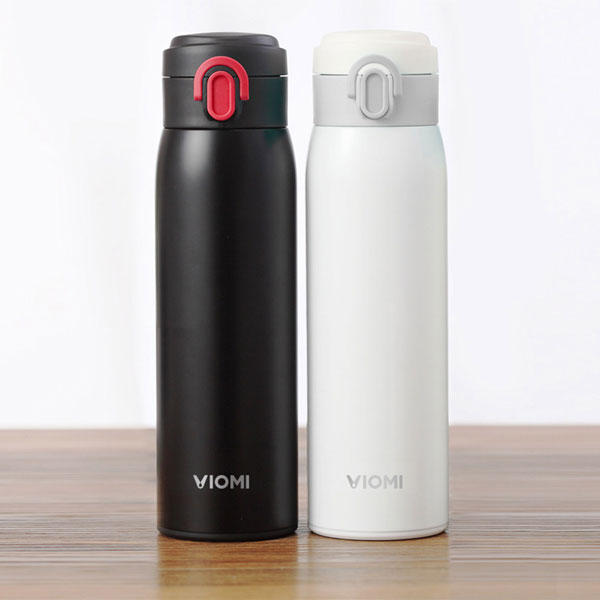 VIOMI 300ML Stainless Steel Thermose Double Wall Vacuum Insulated Water Bottle Drinking Cup Drinking Bottle COD