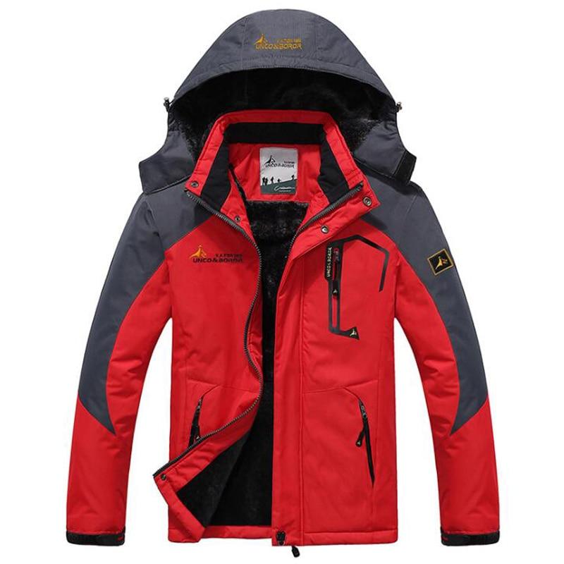 Winter Parka Men Windbreak Plus Velvet Thick Warm Windproof Fur Coats Male Military Hooded Anorak Jackets Men's Winter Jackets|Parkas| - AliExpress