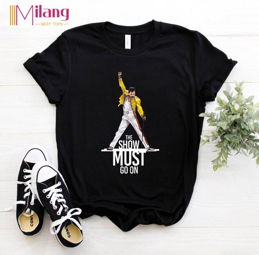 Women Freddie Mercury The Queen Band Black T shirts Female Short Sleeve Tees 2020 Summer Brand Rock Clothing Girl Tops T-Shirts  - AliExpress